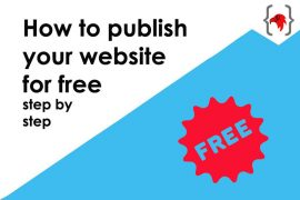 How to publish your website for free step-by-step-featured-image