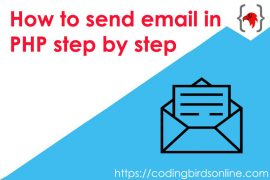 coding-birds-online- coding-birds-How-to-send-email-in-PHP-step-by-step