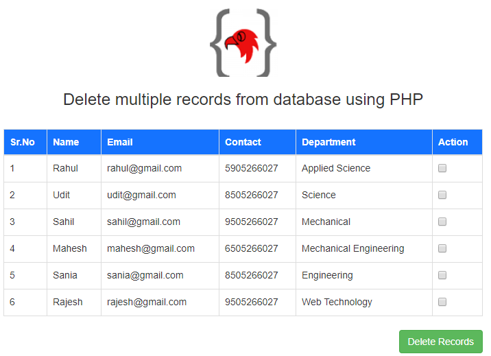 delete-multiple-records-in-php-using-the-checkbox-output