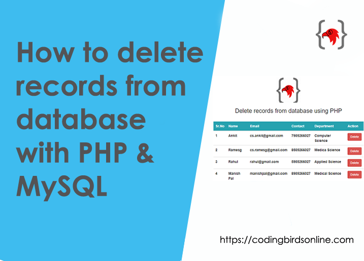 how-to-delete-records-from-a-database-with-php-featured-image
