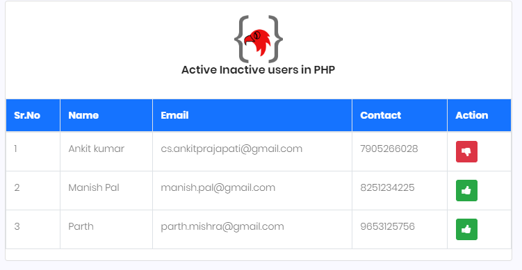 active-inactive-users-in-php-using-jquery-ajax-coding-birds-online-output