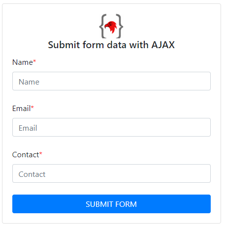 coding-birds-online-how-to-submit-form-data-using-ajax-in-php-output-screen