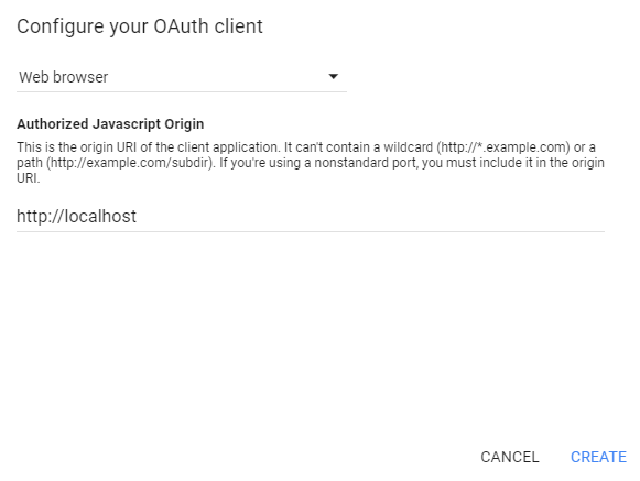 login-with-google-account-using-javascript-oauth-create-project-step-2