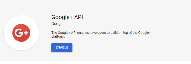 login-with-google-account-using-javascript-oauth-create-project-step-5-enable-api-button